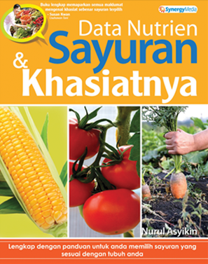 Cover of Data Nutrien Sayuran & Khasiatnya